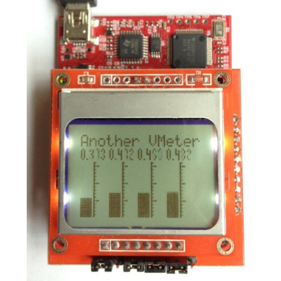 Nokia 5110 Lcd Boosterpack Breakout Pcb