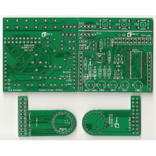 IV-18 VFD Tube Clock BoosterPack PCB Set