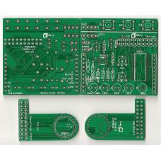 IV-18 VFD Tube Clock BoosterPack PCB Set