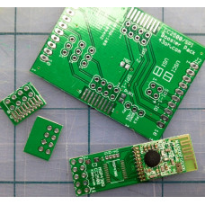 The CC2500 BoosterPack PCB