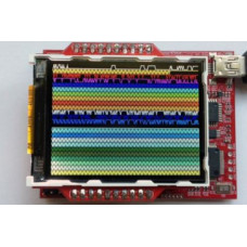 "2.2"" Color LCD BoosterPack Kit"