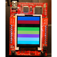Color LCD BoosterPack PCB