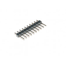 "0.100"" (2.54 mm) Breakaway Straight Male Header: 1x10-Pin"